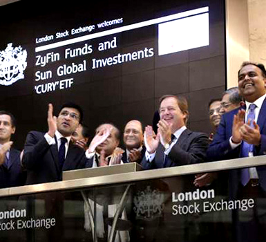 SUN GLOBAL AND ZYFIN LIST WORLD'S FIRST INDIAN FIXED INCOME ETF ON LONDON STOCK EXCHANGE