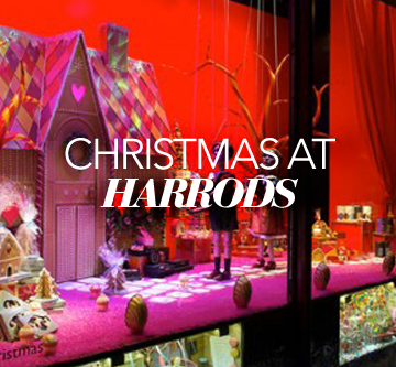 HARRODS LAUNCHES CHRISTMAS WINDOWS