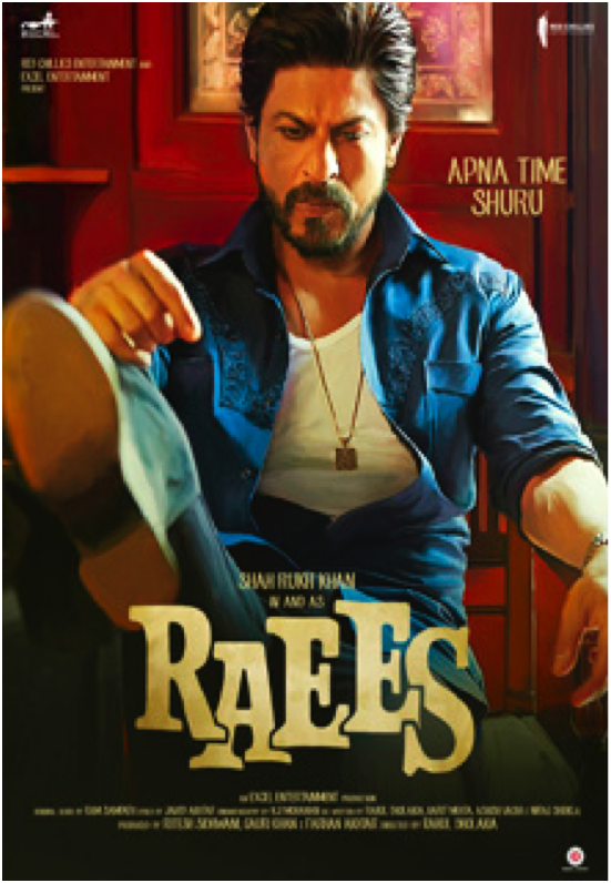 WATCH THE SPECTACLE UNFOLD AS MEGASTAR SHAH RUKH KHAN DISRUPTS THE STATUS QUO IN AND AS RAEES IN CINEMAS 25TH JANUARY 2017