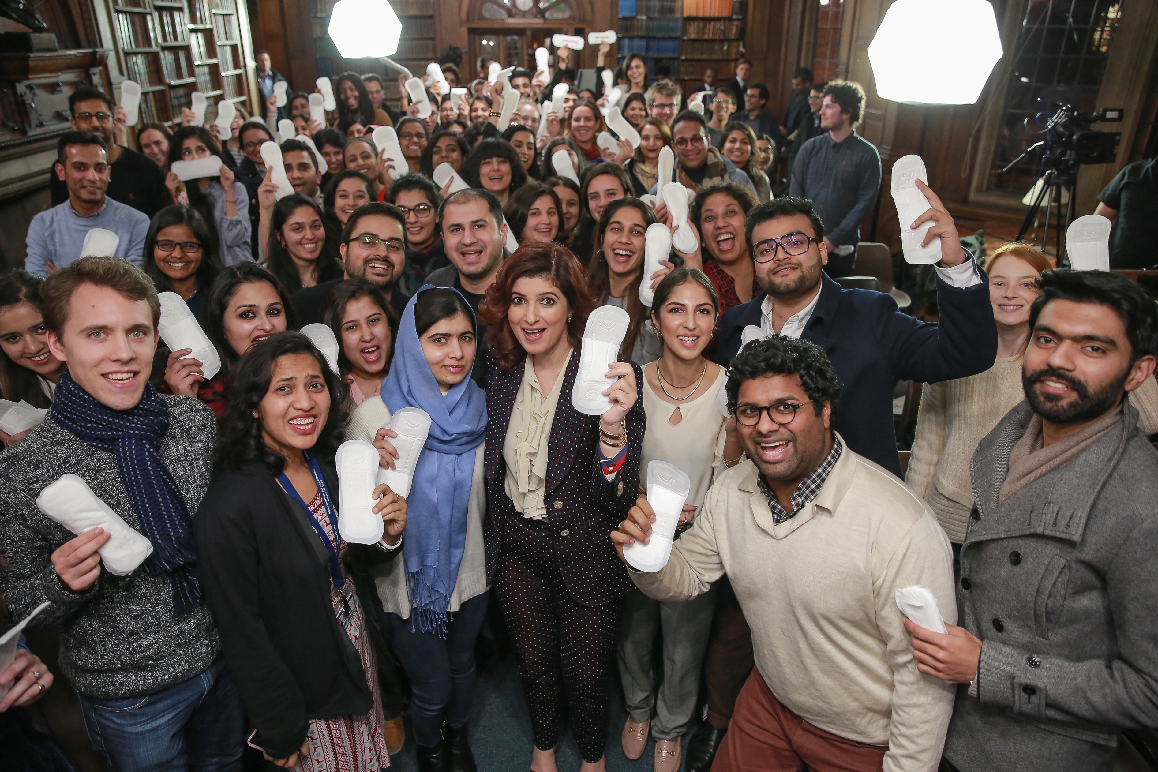 PAD MAN FEVER HITS THE UK AS TWINKLE KHANNA GETS THE NATION TALKING PERIODS