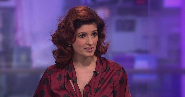 Twinkle on Channel 4 News