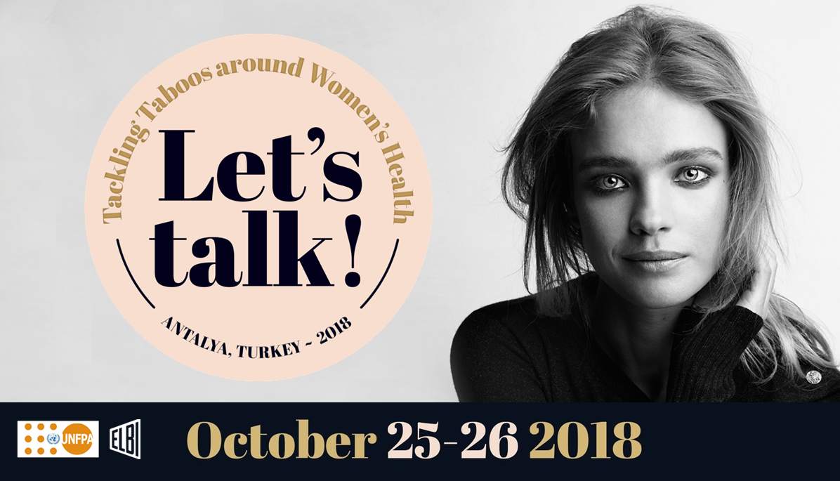 """LET'S TALK!"" – PHILANTHROPIST, CAMPAIGNER & SUPERMODEL NATALIA VODIANOVA JOINS UNFPA TO LEAD GLOBAL SYMPOSIUM ON TACKLING TABOOS AND EMPOWERING WOMEN"