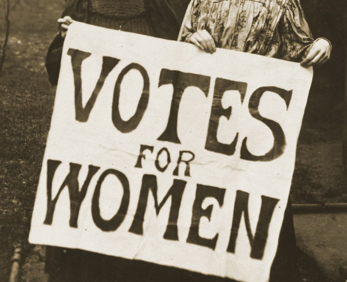 VOTE 100, THE FIGHT FOR THE FEMALE VOTE