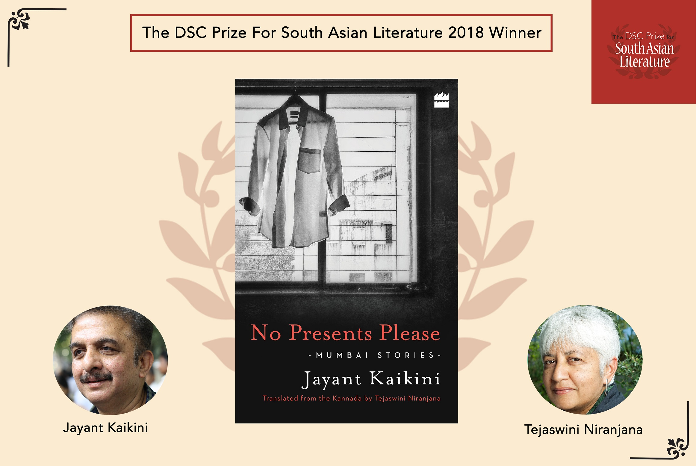 Winner of DSC Prize for South Asian Literature 2018 announced – Sterling Media
